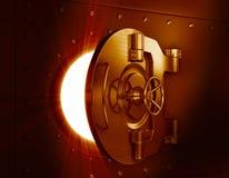 Bank vault door. Business metaphor Stock Photo