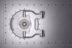 Bank vault door. 3D illustration Royalty Free Stock Photo