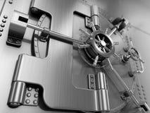Bank Vault Door Stock Photography