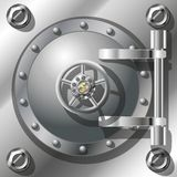 Bank Vault Door Royalty Free Stock Photo