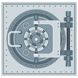 Bank vault icon Stock Image