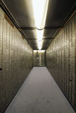 Bank Vault Safe Deposit Box Stock Photography
