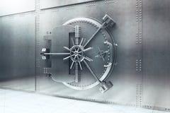 Bank vault side Stock Images