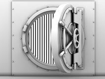 Bank vaulted door Royalty Free Stock Image