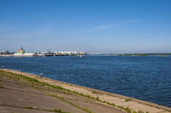 Bank of the Volga Stock Photography