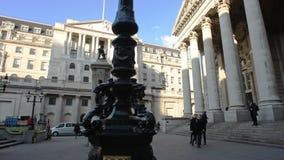 Bank von England und von königlichen Austausch stock video