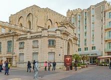 Bank von Frankreich-Gebäude in Avignon Frankreich Stockfoto