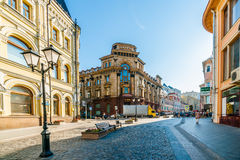 Bank von Moskau Stockfoto