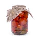 Bank von Tomaten lizenzfreies stockbild