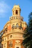 Bank von Valencia Stockfoto