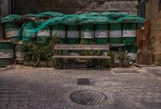 Bank voor barricades, Cyprus, Nicosia royalty-vrije stock afbeelding