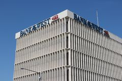 Bank of the West, California Royalty Free Stock Photo