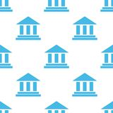 Bank white pattern Stock Photos