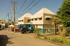 A bank in the windward islands Royalty Free Stock Photography