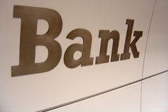 Bank Word Stock Photos