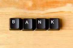 Bank word Stock Photo
