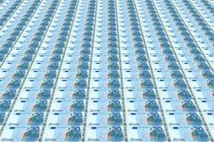 bank wystawia rachunek euro Obraz Royalty Free