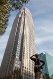 Banka Amerykańskiego Korporacyjny centrum obrazy royalty free