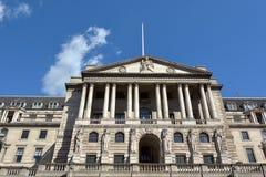 Banka Anglii Środkowy bank Lokuje Anglia UK Zdjęcia Stock