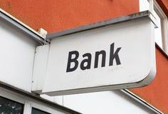 Banka biura znak Zdjęcie Royalty Free