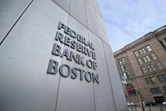 banka bostonu rezerwa federalna Zdjęcia Royalty Free