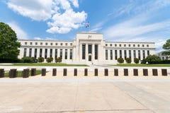 banka budynku dc rezerwa federalna usa Washington Obraz Royalty Free