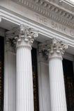 banka budynku kolumny Zdjęcie Royalty Free