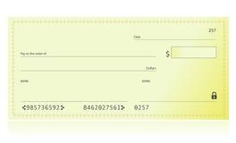 banka czek ilustracji