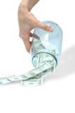 banka dolar Zdjęcie Stock