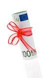 banka euro notatka Obraz Royalty Free