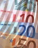 banka euro notatki fotografia royalty free