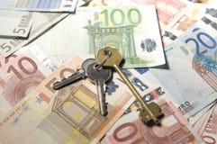 banka euro notatki Obraz Stock