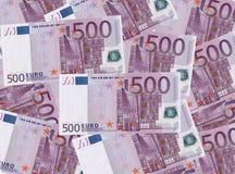 banka euro pięć ostrości sto pieniądze nutowa arkana Fotografia Stock