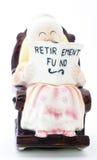banka funduszu emerytura Zdjęcie Royalty Free