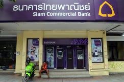 banka handlowa najważniejsza Siam Thailand cecha ogólna Obraz Royalty Free