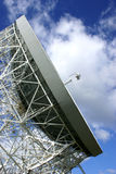 banka jodrell radiowy teleskop Zdjęcia Royalty Free
