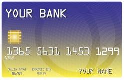 banka karty kredyt twój royalty ilustracja