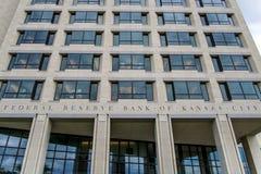banka miasta federacyjna Kansas rezerwa Fotografia Royalty Free