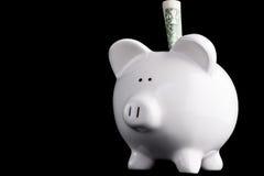 banka odosobneni prosiątka oszczędzania Zdjęcia Stock