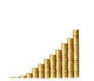 banka pieniądze prosiątka kładzenia oszczędzanie Zdjęcia Stock