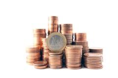 banka pojęcia pieniądze wierza Obraz Royalty Free