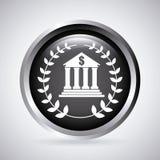 Banka projekt royalty ilustracja