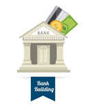Banka projekt ilustracja wektor