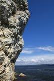 banka rzeki skała Fotografia Royalty Free