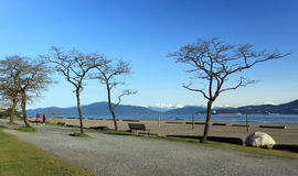 banka spanish Vancouver fotografia royalty free