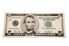 Bankbiljet Royalty-vrije Stock Afbeelding