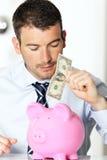 Bankbiljet Stock Foto