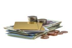 bankbiljet Royalty-vrije Stock Foto