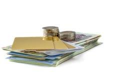 bankbiljet Royalty-vrije Stock Foto's