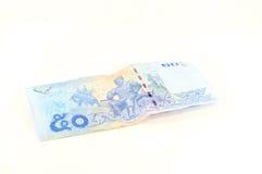 Bankbiljet 50 bad stock fotografie